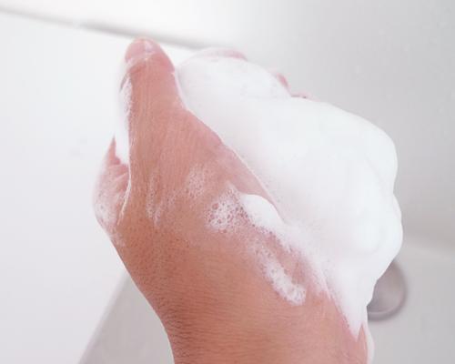 洗顔料泡立ち感